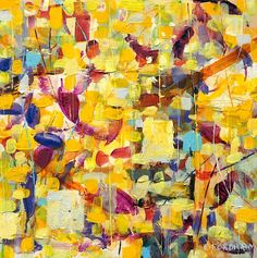 Buy Summer Garden Recollected Reflections 2, Oil painting by Eddie Fordham on…