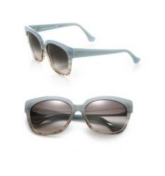 Balenciaga 59MM Ombre Square Sunglasses