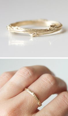 Twig Ring -- I'm in love.  Must have.