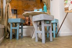 Chloe decoration#hand made chairs #pallets#