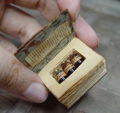 EV Miniatures Hidden Potion Books #books #potionbook #miniature