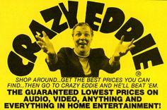 Crazy Eddie electronics stores