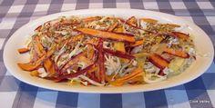 cookvalley - tanker om mad: Stop spild af mad: Grydestegt oksebov og spidskålssalat med farvede gulerødder