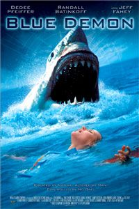 Blue Demon (1.5 stars) Low budget shark movie that gives you what you expect and nothing more for the 650,000 dollars: woeful CGI (the genetically engineered sharks don't look right), the director uses the same shot of them swimming over and over, bad acting all around (even from Fahey in his over-the-top performance), and a story that is moronic and has little believability. A real clunker.