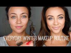 Everyday Flawless Makeup Routine Tägliche makellose Make-up-Routine Flawless Makeup, Love Makeup, Skin Makeup, Makeup Tips, Makeup Eyebrows, Gorgeous Makeup, Pretty Makeup, Makeup Geek, Simple Makeup