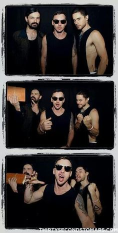 Thirty Seconds To Mars Most Beautiful Man, Gorgeous Men, Thirty Seconds, 30 Seconds, Jared Leto Music, Mars Family, Life On Mars, Shannon Leto, Film Strip