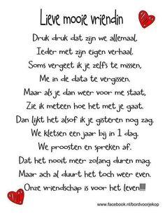 Bekijk de foto van Vief89 met als titel Lieve vriendin en andere inspirerende plaatjes op Welke.nl.