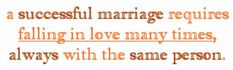 marriage quote - falling in love with the same person