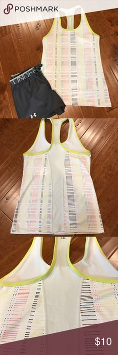 Champion brand workout tank This Tank is size medium and worn very little. Fun colors! Champion Tops Tank Tops