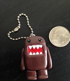 Handmade Domo-Kun Polymer Clay Keychain! $8