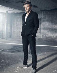 David Backham for H&M -  - Read full story here: http://www.fashiontimes.it/galleria/david-backham-for-hm/