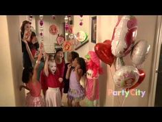 Strawberry Shortcake Birthday Party Ideas - YouTube