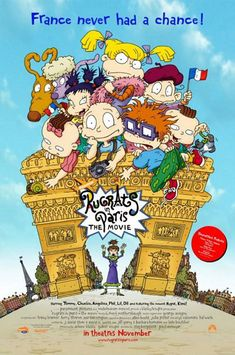 2000 – Rugrats in Paris, Movie Poster Paramount Pictures