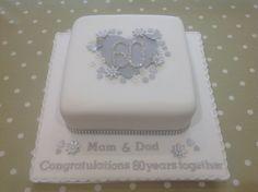 diamond wedding anniversary cakes - Google Search