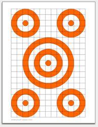 Http://www.paracordist.com free printable bullseye target #guns #firearms #preppers