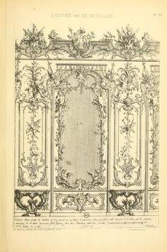 L'uvre de De Cuvilliès : époque Louis XV : nouv...
