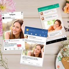 Facebook Instagram Whatsapp, Polaroid Film, Frame, Paper, Digital Invitations, Celebration, Invitation Cards, Social Networks, Picture Frame