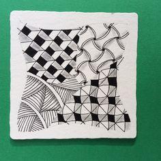 Zentangle by CZT Nancy Domnauer, www.linedotcalm.com'