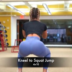 Squat Jump is part of health-fitness - health-fitness Fitness Workouts, Sport Fitness, Butt Workout, Fitness Goals, At Home Workouts, Fitness Tips, Fitness Motivation, Health Fitness, Fitness Weightloss