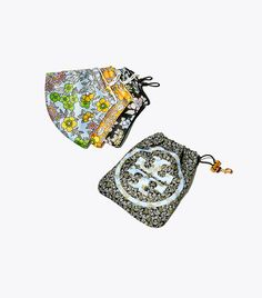 Printed Face Mask, Tory Burch Best Gifts For Mom, Gifts For Women, Face Mask Set, Miller Sandal, Designer Shoes, Women's Accessories, Tory Burch, Pouch, Fancy