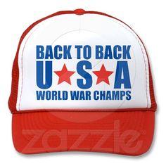 Back to Back World War Champs Hat