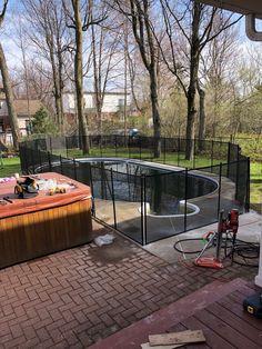 Installez-vous même votre clôture de piscine! Félicitation à M.Picard pour son installation à Drummondville. Merci de nous partager votre réalisation. Clôture de piscine amovible ENFANT SÉCURE