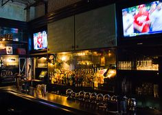 From NY Ranger Sean Avery and Matt Abramcyk, Warren 77 is a new sports bar with a locker room design in TriBeCa.
