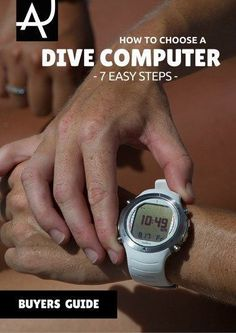 Learn how to choose a dive computer with this easy to read guide. Scuba Diving Gear and Equipment Posts – Dive Products and Accessories #ScubaDivingEquipmentandSites #scubadivingsites #scubadivinggearaccessories