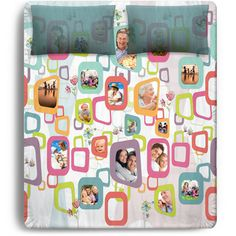 #digitalprint #india #digitallyprintedfabric Personalised photo topsheets. Duvets, bed linen all customised with your own photos!  www.chimoraprint.com #pattern #print