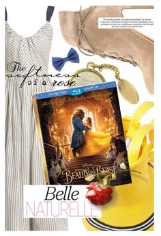 """""""Disney's 'Beauty and the Beast'"""" by cultofsharon ❤ liked on Polyvore featuring Rosie Assoulin, LUISA BECCARIA, Gianvito Rossi, Girard-Perregaux, Disney and vintage"""