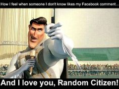 When someone I don't know likes my facebook status....