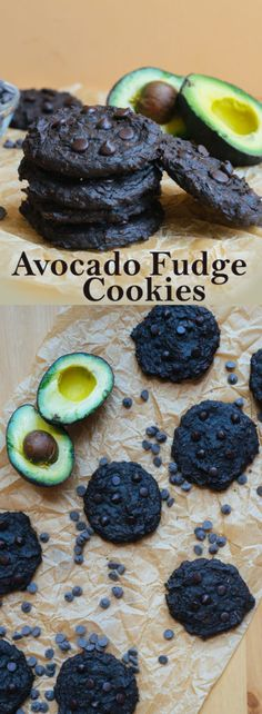 Healthy Recipes These Low Carb Fudge Cookies are made using healthy fats from avocado and completely nut free and flourless! - These Low Carb Fudge Cookies are made using healthy fats from avocado and completely nut free and flourless! Keto Cookies, Fudge Cookies, Yummy Cookies, Chip Cookies, Keto Avocado, Avocado Recipes, Avacado Snacks, Low Carb Sweets, Low Carb Desserts