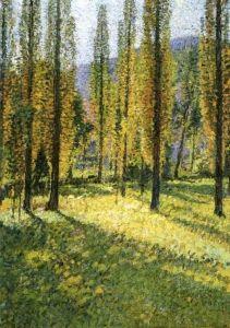 Poplars - Henri Martin - The Athenaeum