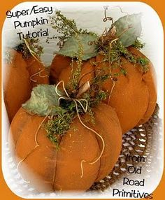 Pumpkin tutorial...