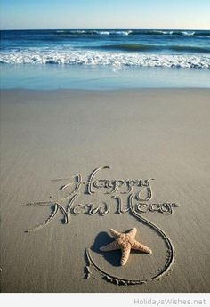Happy new year 2015 sea image