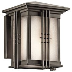 Outdoor Wall Sconce, Outdoor Wall Lighting, Wall Sconce Lighting, Cool Lighting, Wall Sconces, Outdoor Decor, Lighting Ideas, House Lighting, Exterior Lighting
