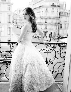 Natalie Portman by Tim Walker for Miss Dior Blooming Bouquet +