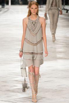 Roberto Cavalli Spring 2014 Ready-to-Wear Fashion Show - Nastya Zhidkikh