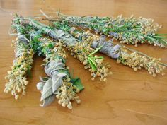 smudge sticks & info on all things witchy