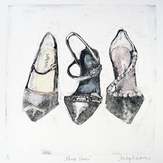 Three Shoes. SOLD