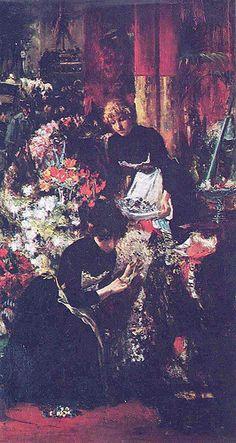 Street Flower Vendor by Juan Luna - Juan Luna - Wikipedia, the free encyclopedia