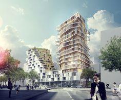 Conjunto de Viviendas en Masséna / Hamonic + Masson  + architectes mandataires  + Comte&Vollenweider architectes associés