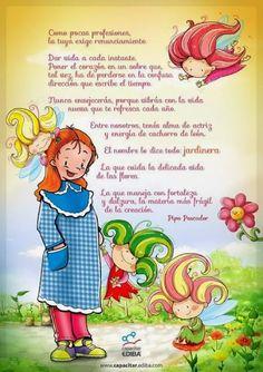 Maestra Asunción: noviembre 2013 Art Classroom Management, Preschool Education, Teachers' Day, Teacher Quotes, Pre School, Teacher Gifts, Inspirational Quotes, Teaching, Crafts