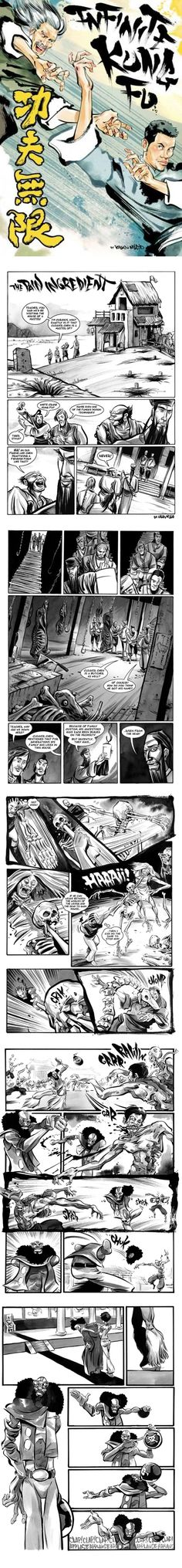 """""""The best elements of horror, Westerns, and of course, kung fu films are seamlessly interlaced to tell a highly imaginative tale. You couldn't sandblast the smile from my face as I read this."""" -- Ain't It Cool News  """"Stunningly gorgeous... McLeod's unique brand of comic book wizardry practically oozes out of every panel as his art delivers animated stylings with a hip-hop flavor."""" -- Complex"""