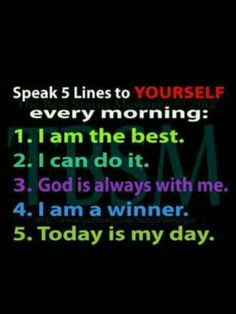 12.9.2013 Daily Affirmations ♥Debbie