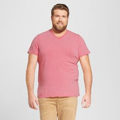 Men's Big & Tall V-Neck T-Shirt - Mossimo Supply Co.