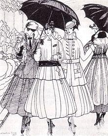 Designs by Mme Lanvin 1915