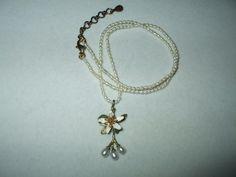 ***Michael Michaud Silver Season Orange Blossom Necklace | eBay
