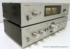 Vintage 1970s Toshiba stereo. Click on photo for more stereo pics and stories.