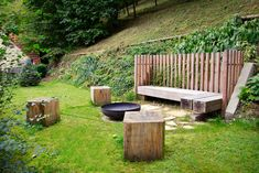 Zahrada ve svahu s krásným výhledem - Projekt - InHaus